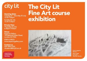 CLFA course exhibition flyer