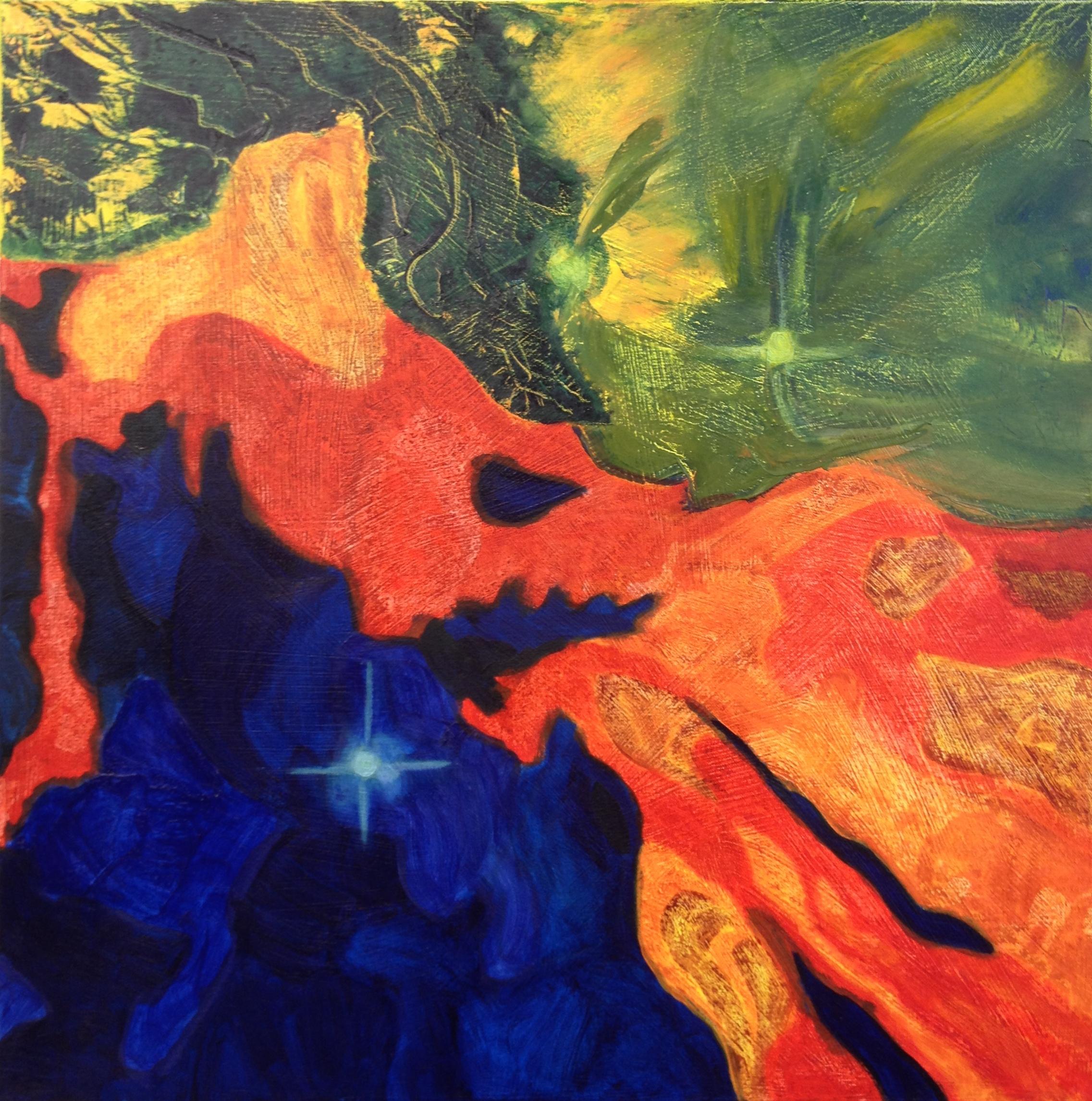 Nebula: oil painting | art blog: Karen Pollock